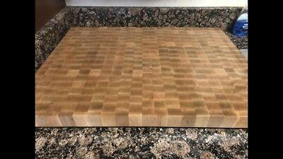 Maple End Grain Cutting Board ()