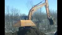 Excavating - Land Clearing - Landscaping - Demolition - Ditching