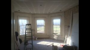 Drywall mudding, repair and Textured ceilings.  Stratford Kitchener Area image 9