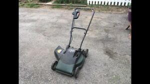 Black and decker electric mower
