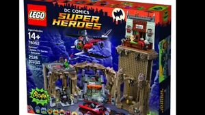Brand new Lego 76052 Super Heroes Ryde Ryde Area Preview