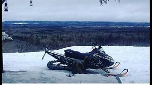 Two Polaris sleds for sale
