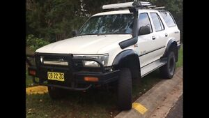 Toyota 4Runner 6cyl petrol - manual 4wd Woolgoolga Coffs Harbour Area Preview