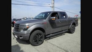 2014 F150 FX4.  Grey appearance package