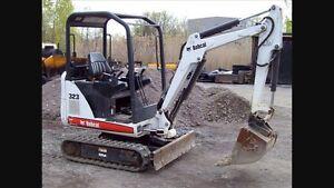 Mini Excavator & Dingo mini digger $70/hr Greensborough Banyule Area Preview