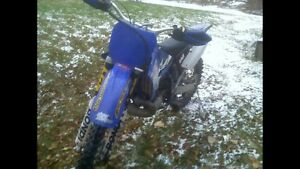 Looking for my old 2004 Yamaha YZ 250  built by Bondi motor