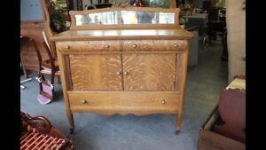 Tiger Oak Sideboard $395