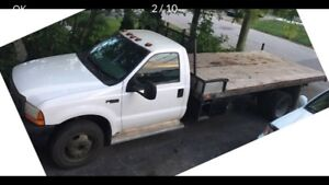 Camionnet Ford F-450 1999 Diesel 6 roues - LAVAL (Nego/échange).