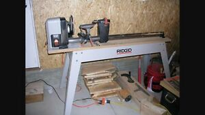 Ridgid wl1200 tour à bois