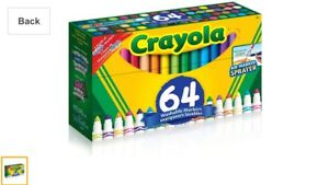 WOW! ONLY $15 BUCKS for 64 Crayola Washable Markers