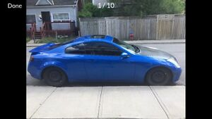 G35 coupe no driveway space need gone