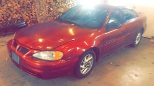 LF: PARTS CAR/ENGINE FOR MY 01 GRAND AM