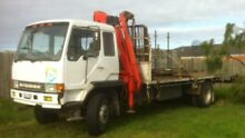 Crane truck and driver for hire. Altona Hobsons Bay Area Preview