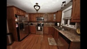 Solid Wood Kitchen Cabinets - only 5 years old