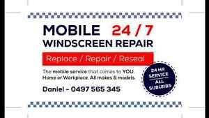 MOBILE WINDSCREEN REPAIRS & REPLACEMENTS & TINTING  24/7 Sydney City Inner Sydney Preview
