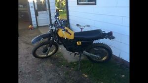 1983 DR 250 1984 DR 125 $ 500 TAKES BOTH
