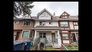 2BR apartment in a house on Bloor west in Annex