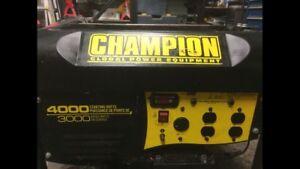 Champion 3000/4000 Watt Generator