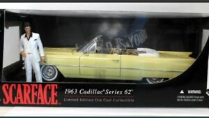 1:18 scale diecast Scarface 63 Cadillac series 62