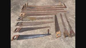 Saws and knives