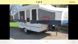 23 foot tent trailer for sale or trade