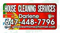 Cleaning Service / Cleaning Lady