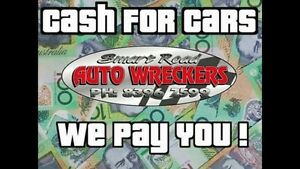 Cash for cars free pickup all makes and models St Agnes Tea Tree Gully Area Preview