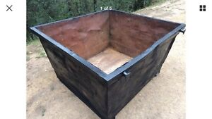 Skip Bin 2cubic Waste Scrap Rubbish Etc (160 x 190 x 95 Cm) Syd Camden Park Wollondilly Area Preview