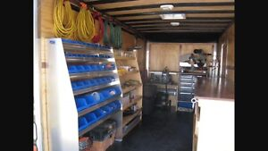 WANTED:    Enclosed service trailer