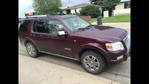 Ford limited explorer 2007