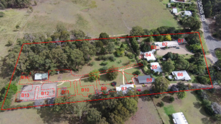 CARAVAN PARK MIXED USE RESIDENTIAL ZONED