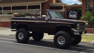 Chevy blazer GMC 4x4 v8 4wd monster truck Mill Park Whittlesea Area Preview