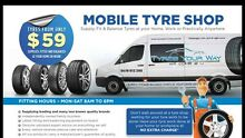 Mobile Tyre Shop We Come To You Perth Region Preview
