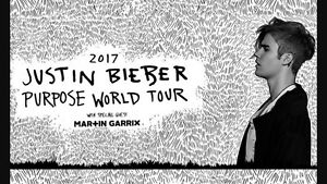 Justin Bieber tickets x 4 A Reserve (Will sell 2 together or 4) Wembley Cambridge Area Preview
