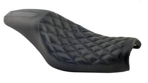 RSD BOSS 2-UP SEAT for HARLEY DYNA