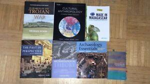 NATS, ARCHEOLOGY, ANTH textbooks