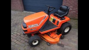 Kubota lawnmower tractor Diesel engine