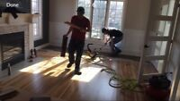 Do you need trim/flooring installation services ?