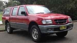 2001 Holden Rodeo Ute Lugarno Hurstville Area Preview
