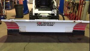 Skid steer snowplow