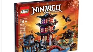 Brand New LEGO 70751 Ninjago Temple of Airjitzu Ryde Ryde Area Preview