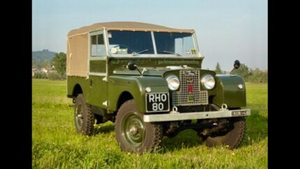 "Land Rover Series 1 S1, Full Canvas Hood/Tilt Exmoor Trim 86"" 88"""