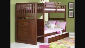 Bunk bed + trundle