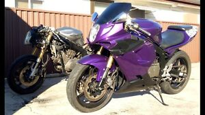 Two Dual Custom Hyosung GT250R Merrylands West Parramatta Area Preview