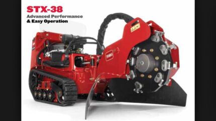 HIRE ME $250 day stump grinder with trailer bobcat excavator tipper  Thornton Maitland Area Preview