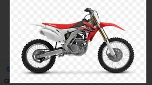 WANTED DIRT BIKE
