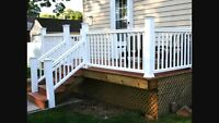 TJ DECK'S AND FENCE