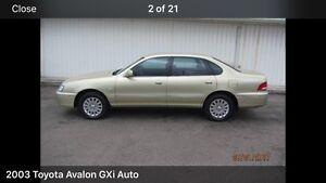 Toyota Avalon 2003 Chippendale Inner Sydney Preview