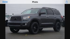 Looking for 2014 Toyota Sequoia LIMITED