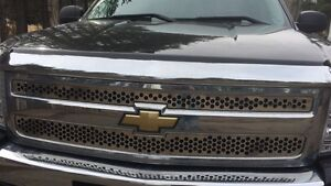 Stainless Steel Grill insert  2008-2013 Chevy extended cab